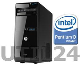 Компьютер в сборе на процессоре  Intel® Dual™ Core Celeron Pentium D  (Socket 775)  (DDR I память, процессор, Жесткий диск, блок питания, кулера охлаждения )