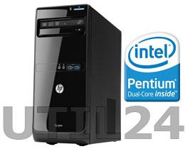 Компьютер в сборе на процессоре  Intel® Dual™ Core (Socket 775)  (DDR II память, процессор, Жесткий диск, блок питания, кулера охлаждения )