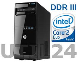 Компьютер в сборе на процессоре  Intel® Core™ 2 Duo (DDR III память, процессор, Жесткий диск, блок питания, кулера охлаждения )