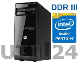 Компьютер в сборе на процессоре  INTEL® CORE™ Pentium G (2GB DDR3, HDD SATA от 250Gb)