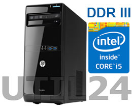Компьютер в сборе на процессоре  INTEL® CORE™ i5 (2GB DDR3, HDD SATA от 250Gb)
