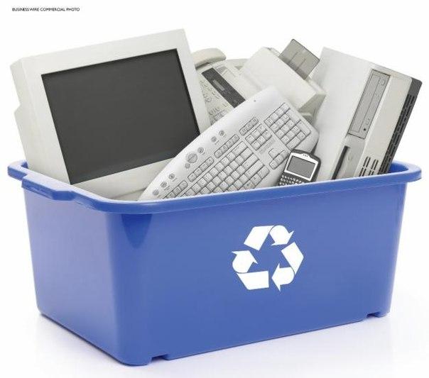 Как происходит утилизация электроники и оргтехники?